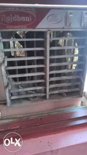 Gray And Pink Rajdhani Evaporative Air Cooler