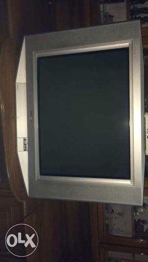 Gray CRT TV Screenshot