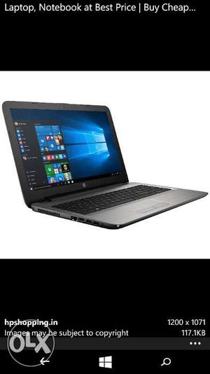 I want to sell my HP laptop It is in almost new