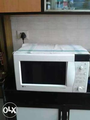 LG Microwave Intello cook.Sparingly used.Very