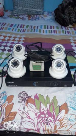 Read Description First White And Black Cctv Camera