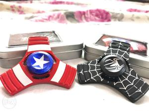 Spider-man And Captain America 3-bladed Fidget Spinners