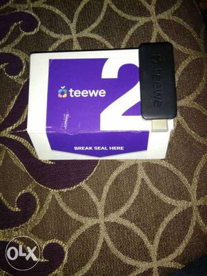 Teewe 2 device for using your tv smart