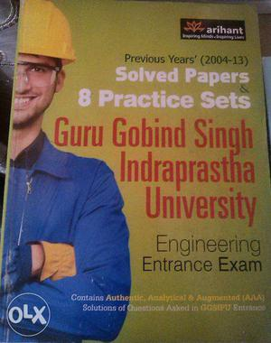 Arihant previous years' solved papers for Guru