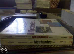 DC Pandey mechanics part 1 & 2 for IIT JEE