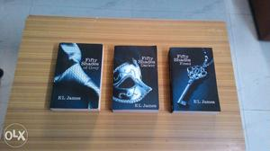 Fifty Shades of Grey entire triology series