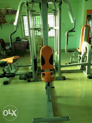 Home gym set of equipment is ready for sale in