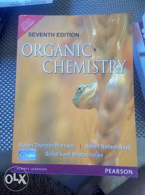 Morrison Boyd Organic Chemistry for IIT JEE