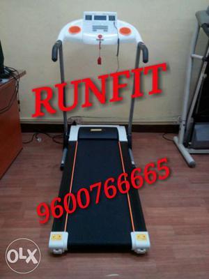 Motorised treadmill RUNFIT cod offer tirupur