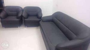 Black sofa 3+1+1, available at Dange chowk.. 14