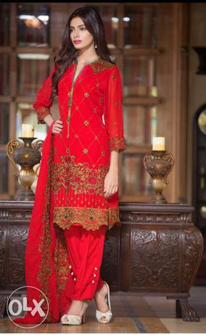 Salwar suits at reasonable rate. Chiffon suits