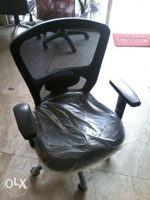 Brand new lumber support office chair with adjustable handle