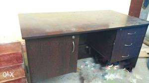 Office wooden table good condition