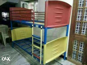 Red And Yellow Bunkbed used good