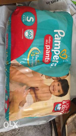 Baby Pampers Diapers small at discounted price