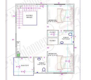 Duplex house plans: Aurora Presented byBuildMyGhar Pune
