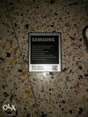 Samsung G and  orginal battery with good