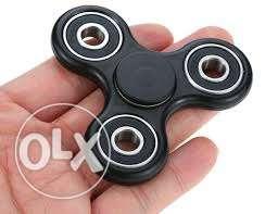 Black Fidget Hand Spinner