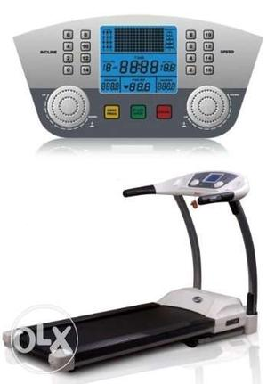 Brand New Box Electronic Treadmill For Home Use with 1yr