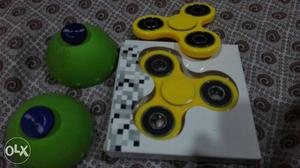 Fidget spinner to relief stress from office and
