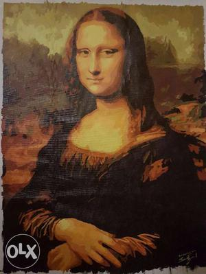 Hand Painted Mona Lisa