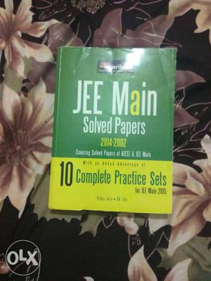JEE Main Solved Papers  Book