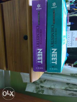 Neet medical Chemistry VOL1 And 2. Very slightly