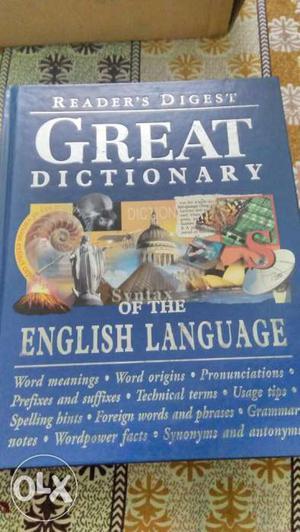 Original unused Very good condition English