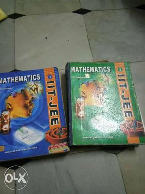 RD SHARMA iit jee guides. 2 volumes. price