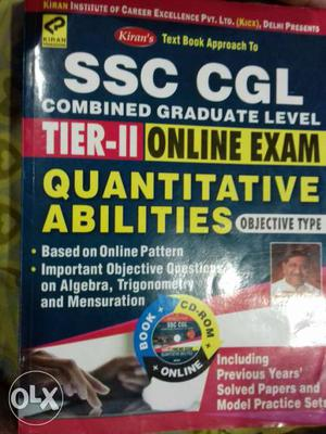 SSC CGL Online Exam Book Screenshot