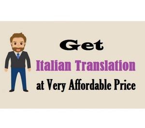 Get Italian Translation at Very Affordable Price Bangalore