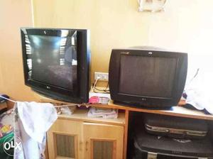 """29""""and 22"""" LG TV. With good condition"""