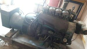 40 Kva generator with diesel tank panel board