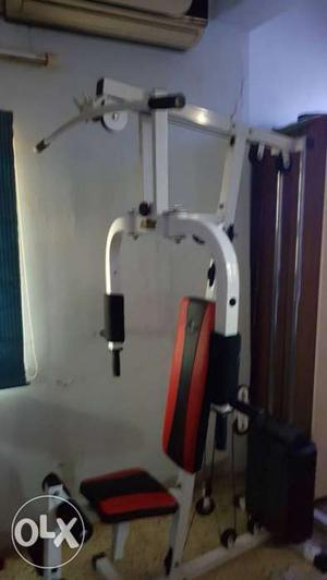 All in one exersice machine and abs workout seat.