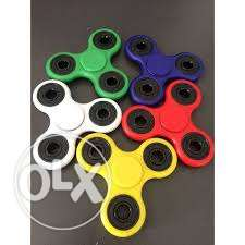 Assorted Color 3-blade Fidget Spinners