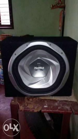 Black And Grey Sony Xplod Box Speaker