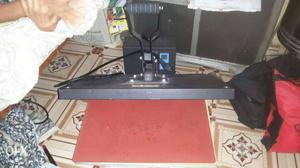 Black Heat Press Printer