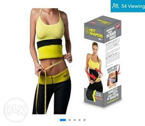 Brand new pack Women's Yellow And Black Abs Shaper