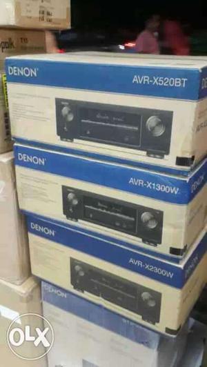 Denon AVR-XW Dolby atmos 7.2 Channel AV receiver Brand