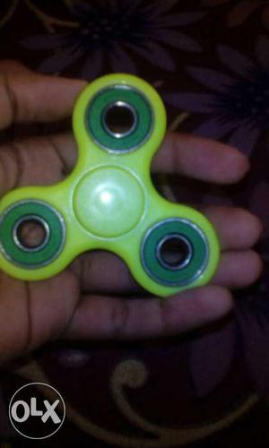 Fidget spinner Green...buyed 3 days ago