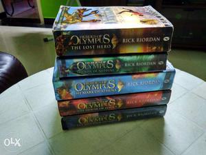 Heroes of Olympus Book Series