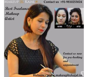 Leading Freelance Makeup Artist in Delhi NCR Noida