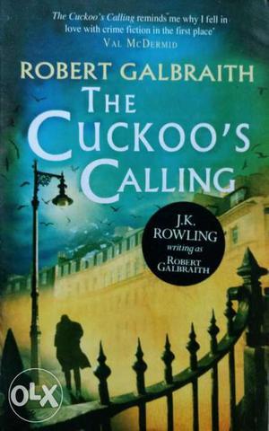 Robert Galbraith The Cuckoo's Calling Book in a good