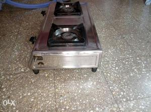 Two Burner Stainless steel Gas Stove being sold,