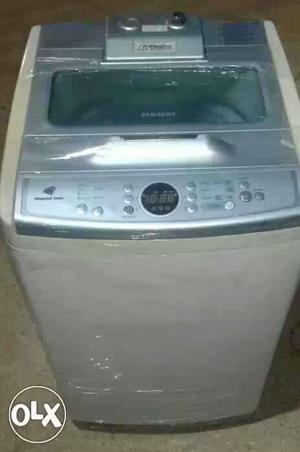 White Samsung Top Load Clothes Washing Machine