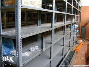 30 slotted angle racks for industrial use in high quality