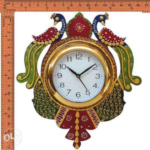 Beautiful Wooden wall clocks with Thousand of Patterns in