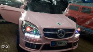 Brand New Mercedes Benz Ride On Kids Car With