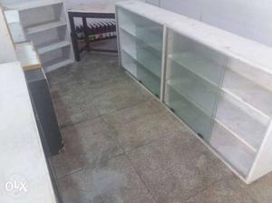 Complete furniture set for shop counter shocases