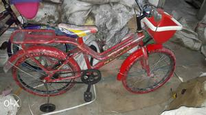 New kids cycle all sizes available very good